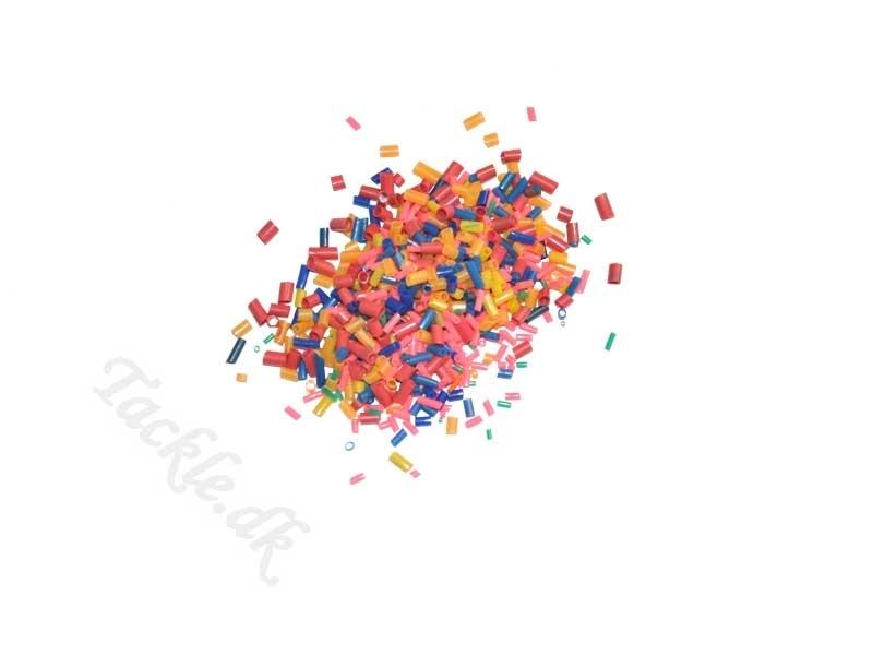 XXL Plasttube-sortiment til flåd/rigs - str. 1-3,5 mm