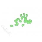 Lineaeffe selvlysende perler 6*10mm - 20 stk. Hard plastic beads