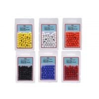 Shakespeare Rig Attractor Beads 8mm Yellow/gul - 50 stk.