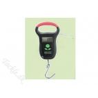 Digitalvægt 25 kg med termometer, målebånd og lys