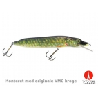 SILVER FOX - Naturistic pike - 20 cm - floating