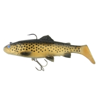 Savage Gear 3D Trout Rattle shad 12,5 cm - Dark brown trout 03