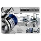 SILVER LION 3000 Fastpolehjul med frontbremse