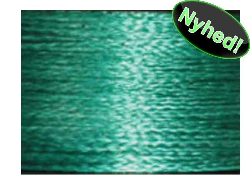 Dyneema Fletline/spunden line Grøn 0,15 mm 11 kg - 270 meter spole